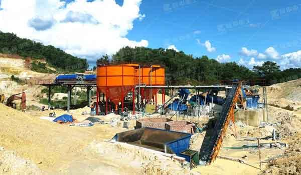 vietnam quartz sand production line case
