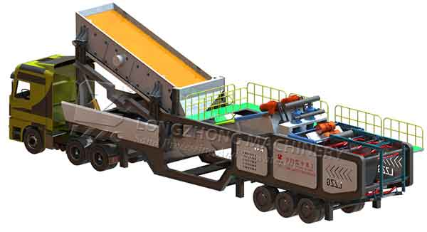 mobile sand wash plant