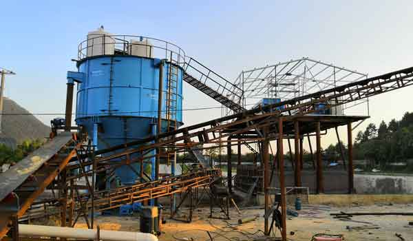fracturing sand washing plants