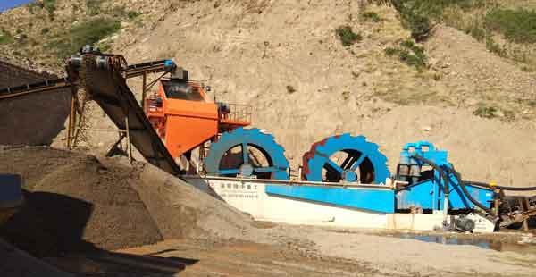 sand washing technology