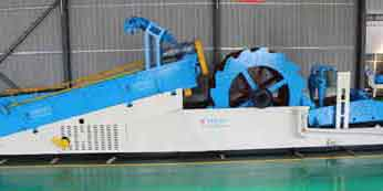 multi-functional integrated sand washer
