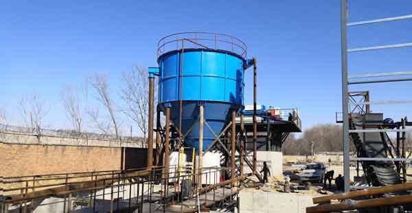 silica sand washing process