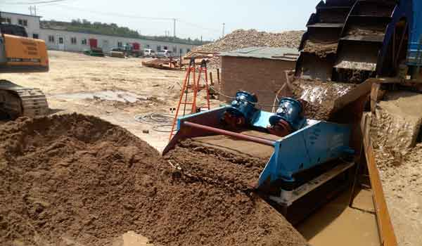 sand and gravel aggregates