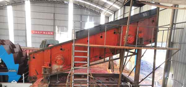 stone screw sand washing machine