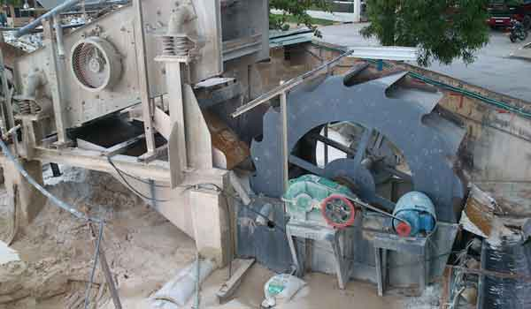 stone sand washing machine