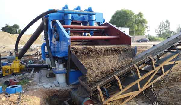 Dewatering Type Fine Sand Recovery Machine