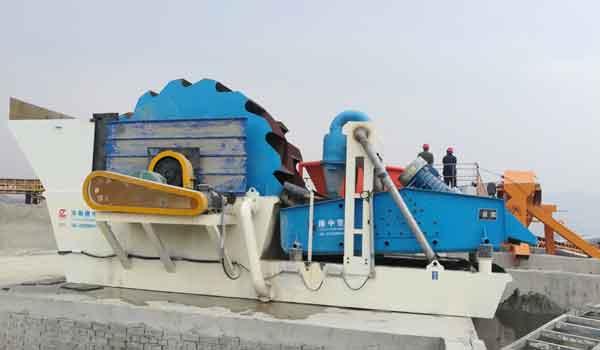 Sand Washing & Recovery Machine