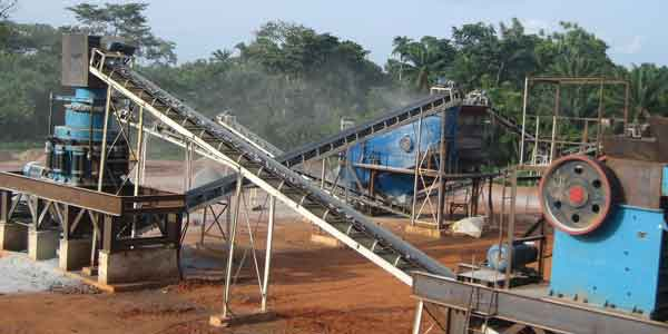 silica sand extraction